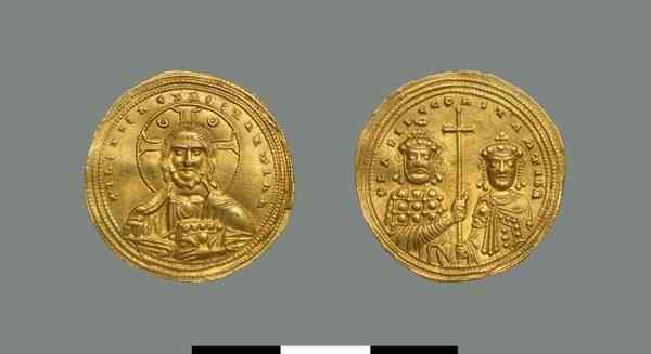 Nomisma histamenon of Basil II (976-1025)