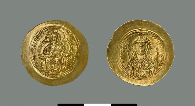 Nomisma histamenon of Constantine IX Monomachos (1042-1055)