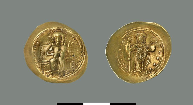 Nomisma histamenon of Constantine X (1059-1067)