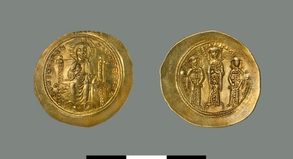 Nomisma histamenon of Eudokia Makrembolitissa (1067)