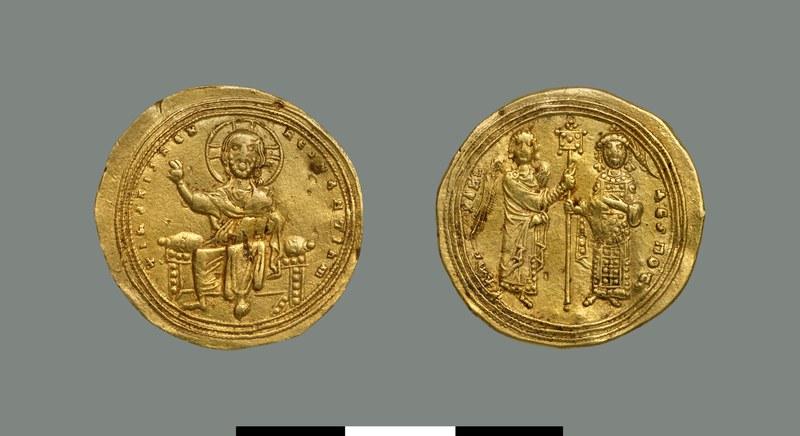Nomisma histamenon of Michael IV Paphlagon (1034-1041)