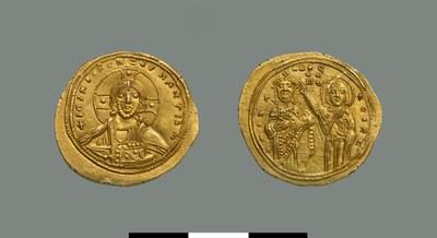Nomisma histamenon of Michael VI Stratiotikos (1056-1057)