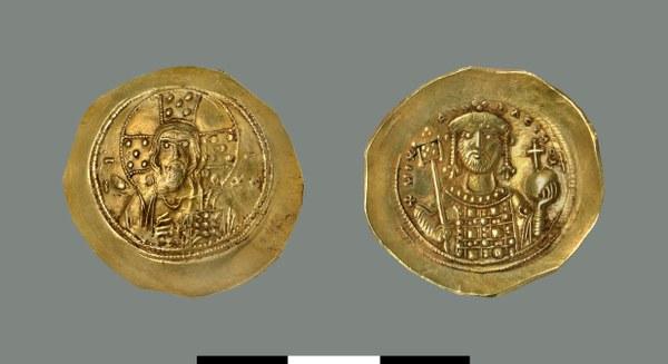 Nomisma histamenon of Michael VII Doukas (1071-1078)