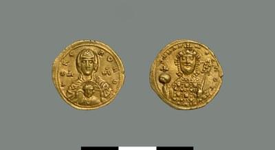 Nomisma tetarteron of Romanos III Argyros (1028-1034)