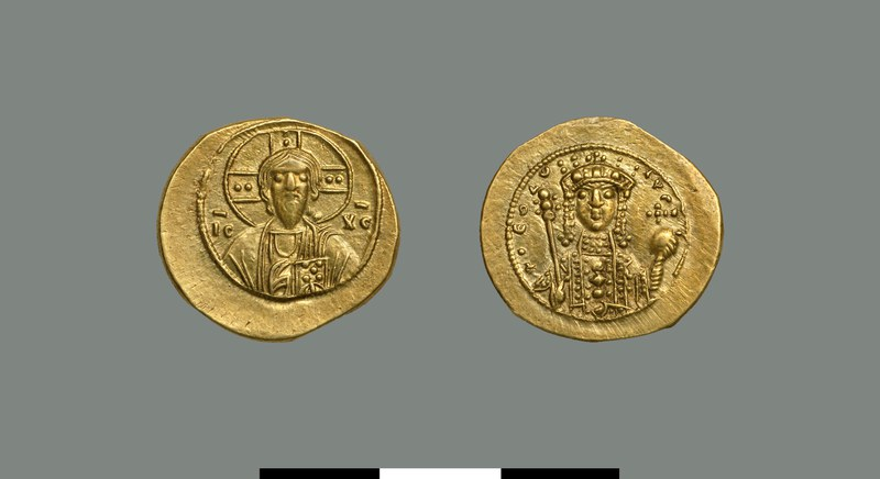 Nomisma tetarteron of Theodora (1055-1056)