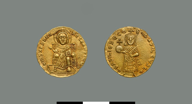 Solidus of Basil I (867-886)