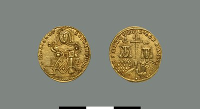 Solidus of Constantine VII Porphyrogennetos (and Romanos I Lekapenos) (913-959)