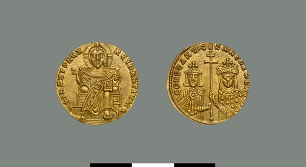 Solidus of Constantine VII Porphyrogennetos (and Zoe Karbonopsina) (913-959)