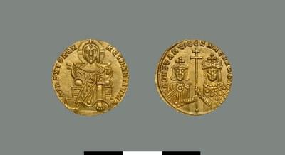 Solidus of Constantine VII Porphyrogennetos (and Zoe Karbonopsina) (913-959)