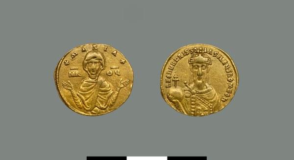 Solidus of Leo VI (886-912)