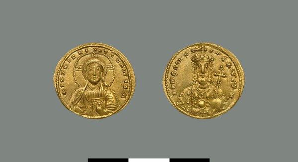 Solidus of Romanos II (959-963)
