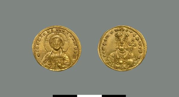 Solidus of Romanos II (959-963)
