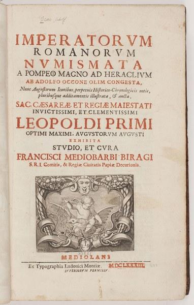Imperatorum Romanorum numismata a Pompeio Magno ad Heraclium
