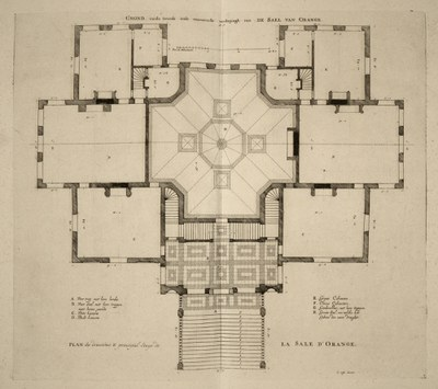 Plan of Huis ten Bosch