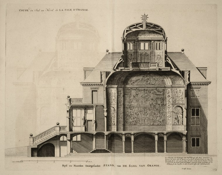 Section Showing the Oranjezall