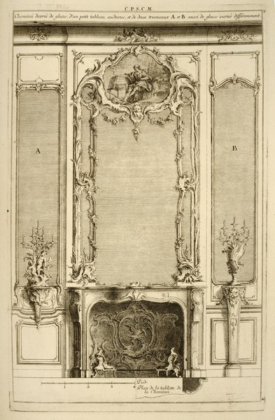 Design for Mantlepiece