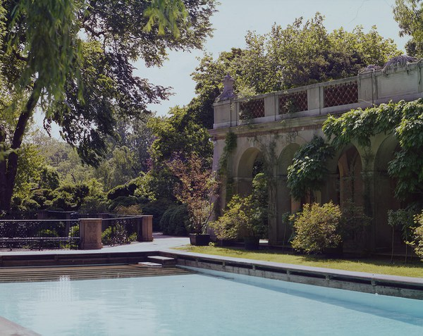 Swimming Pool and Loggia, facing Southeast