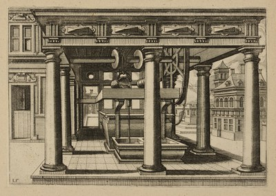 Drawing of Well