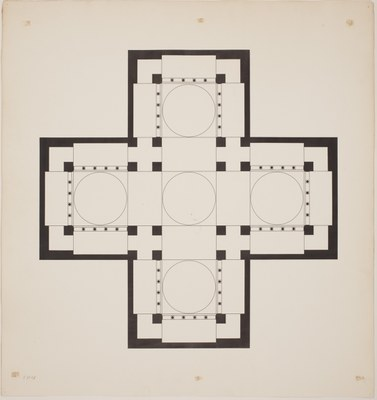 Ground plan of the main church