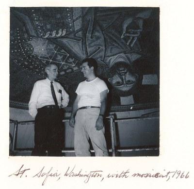 Paul A. Underwood and Demetrios Dukas, Saint Sophia Cathedral, Washington D.C., 1966