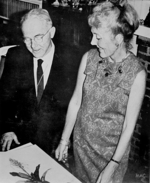 Margaret Mee and Lyman Smith, 1960s