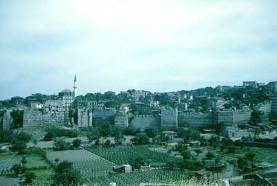 Theodosian Walls, Northeastern Section