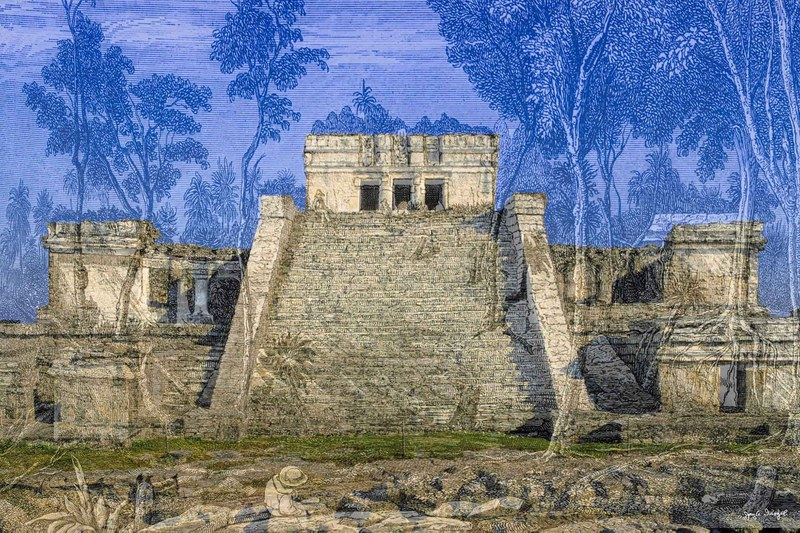 Past and Present: Views of Maya Monuments