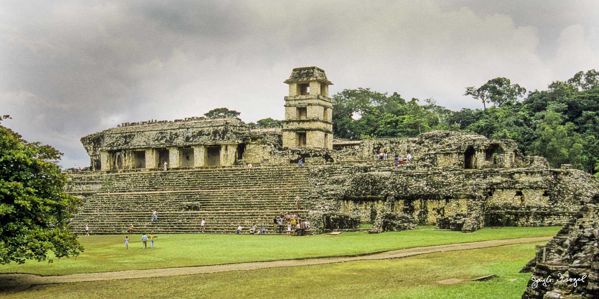 Palenque, The Palace. Photo: Jay A. Frogel.