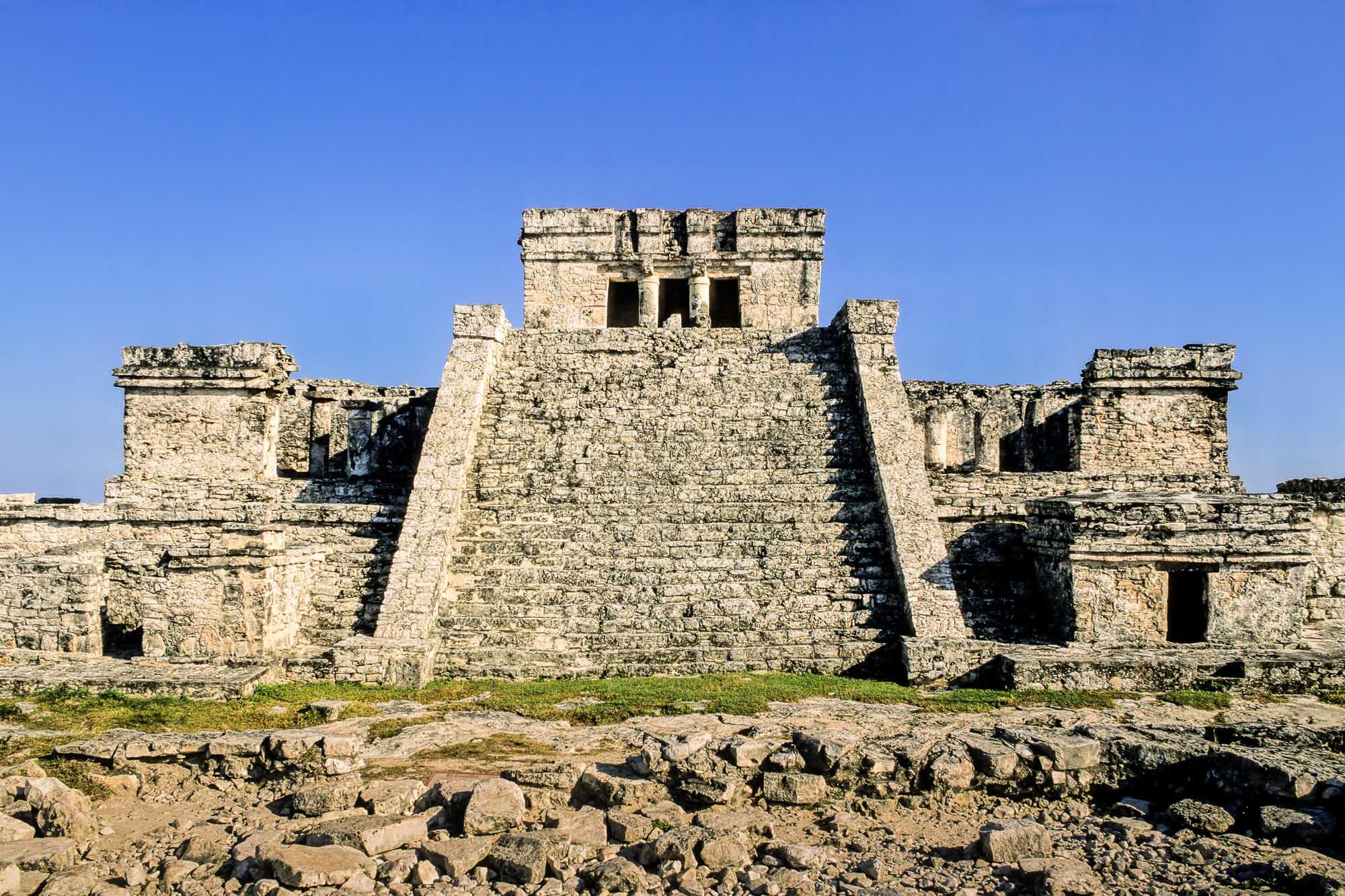 Tulum, Mexico, El Castillo. Photo: Jay A. Frogel.