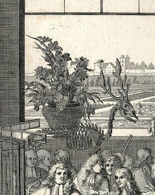 Frontispiece, Recueil de plantes: Detail