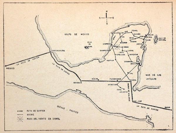 Map of the Yucatan