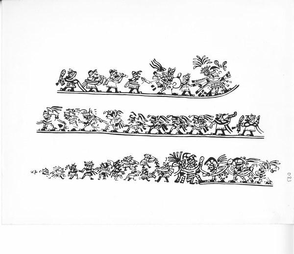 Large Moche Procession