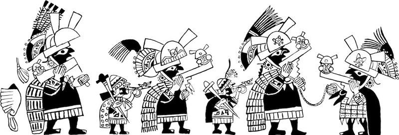 Moche Procession
