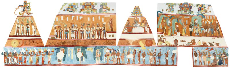 Murals at Bonampak