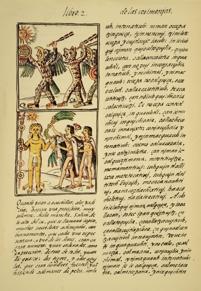 Scene from an Aztec Festival