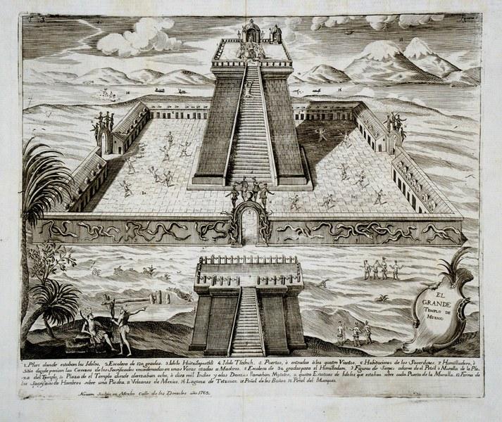 Plaza of Tenochtitlan