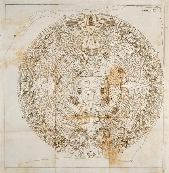 Descripción histórica y cronológica de las dos piedras...