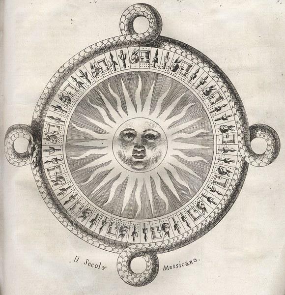 Il Secolo Messicano, from Storia antica del Messico