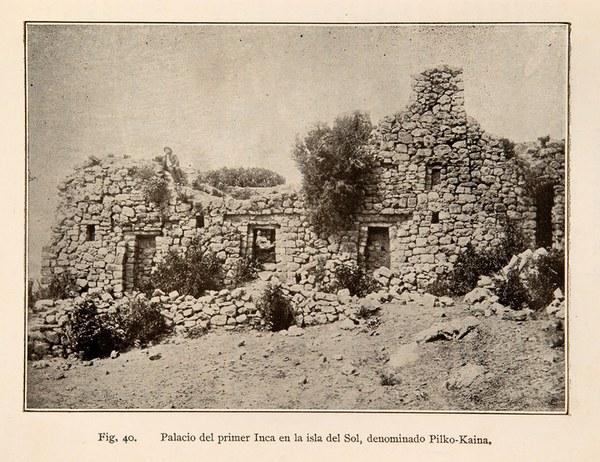 Monumentos prehistóricos de Tihuanacu e islas del sol y la luna (Titicaca y Koaty)