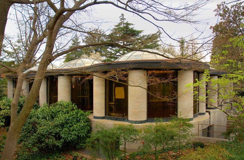 Philip Johnson at Dumbarton Oaks