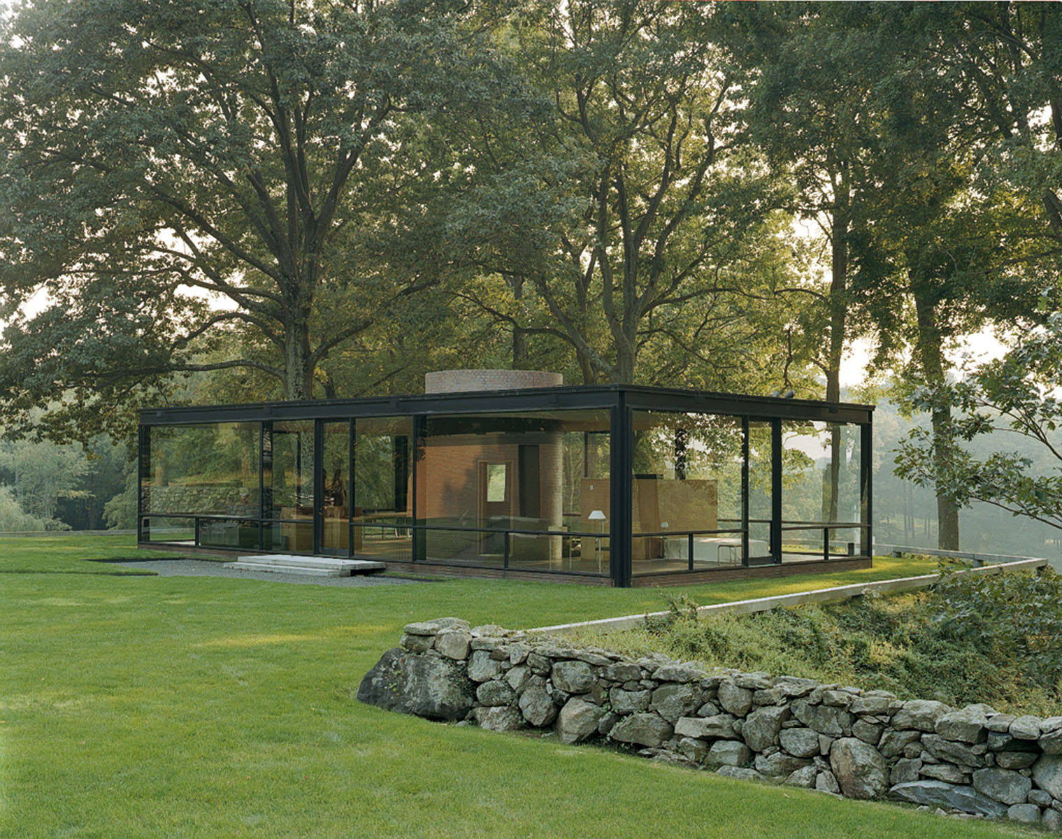Philip Johnson Dumbarton Oaks