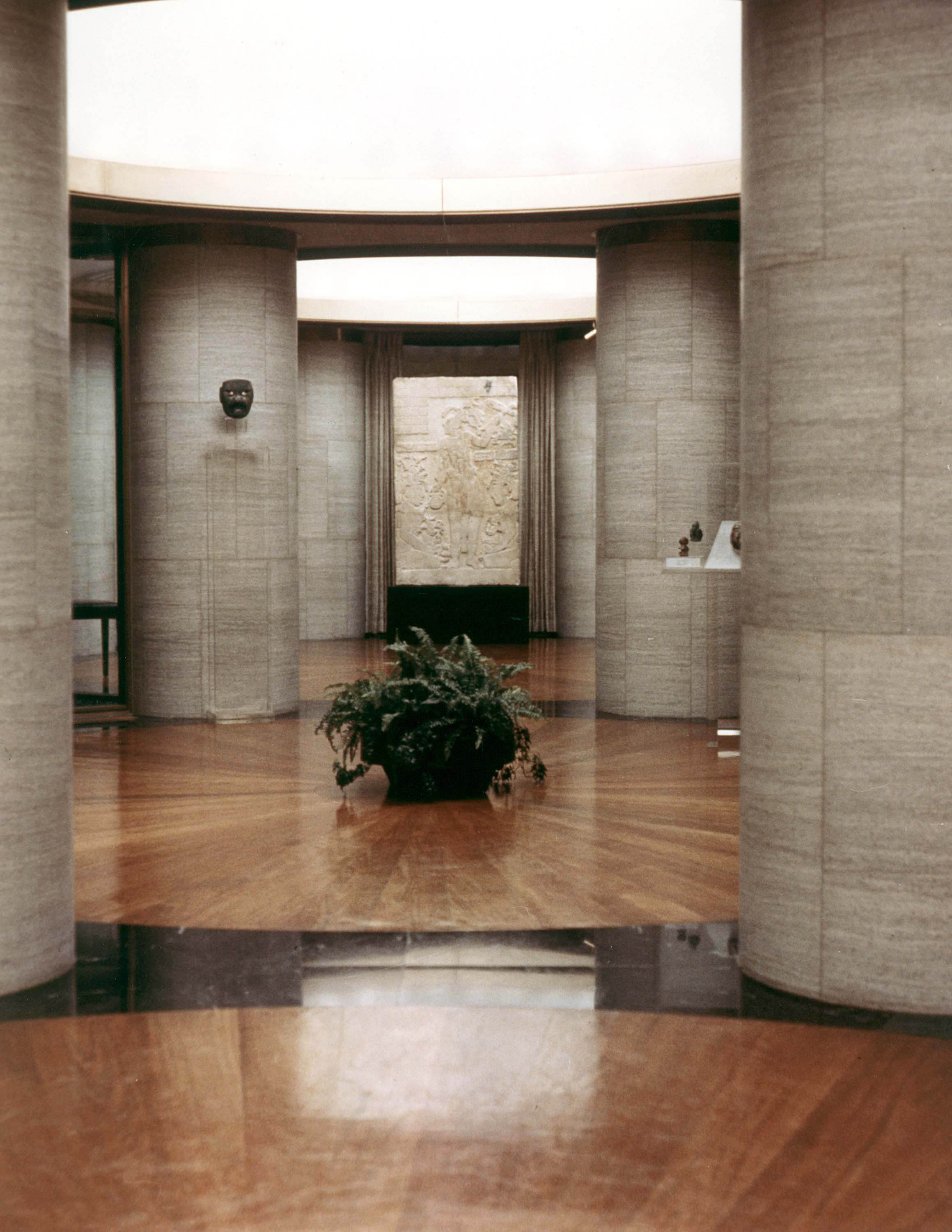 postmodern interior architecture. Philip Johnson At Dumbarton Oaks: Figure 38 Postmodern Interior Architecture