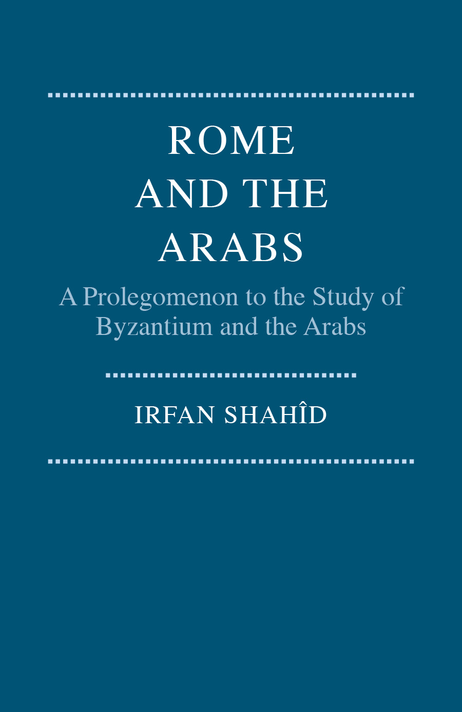 Rome and the Arabs