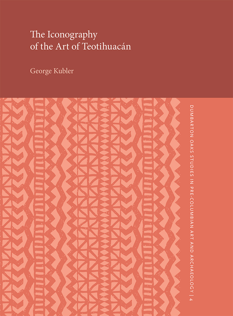 The Iconography of the Art of Teotihuacán