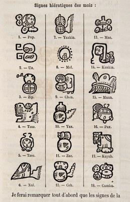 Essai sur le déchiffrement de l'écriture hiératique de l'Amérique Centrale