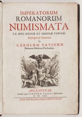 Imperatorum romanorum numismata ex aere, mediae et minimae formae