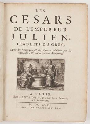 Les Cesars de l'empereur Julien