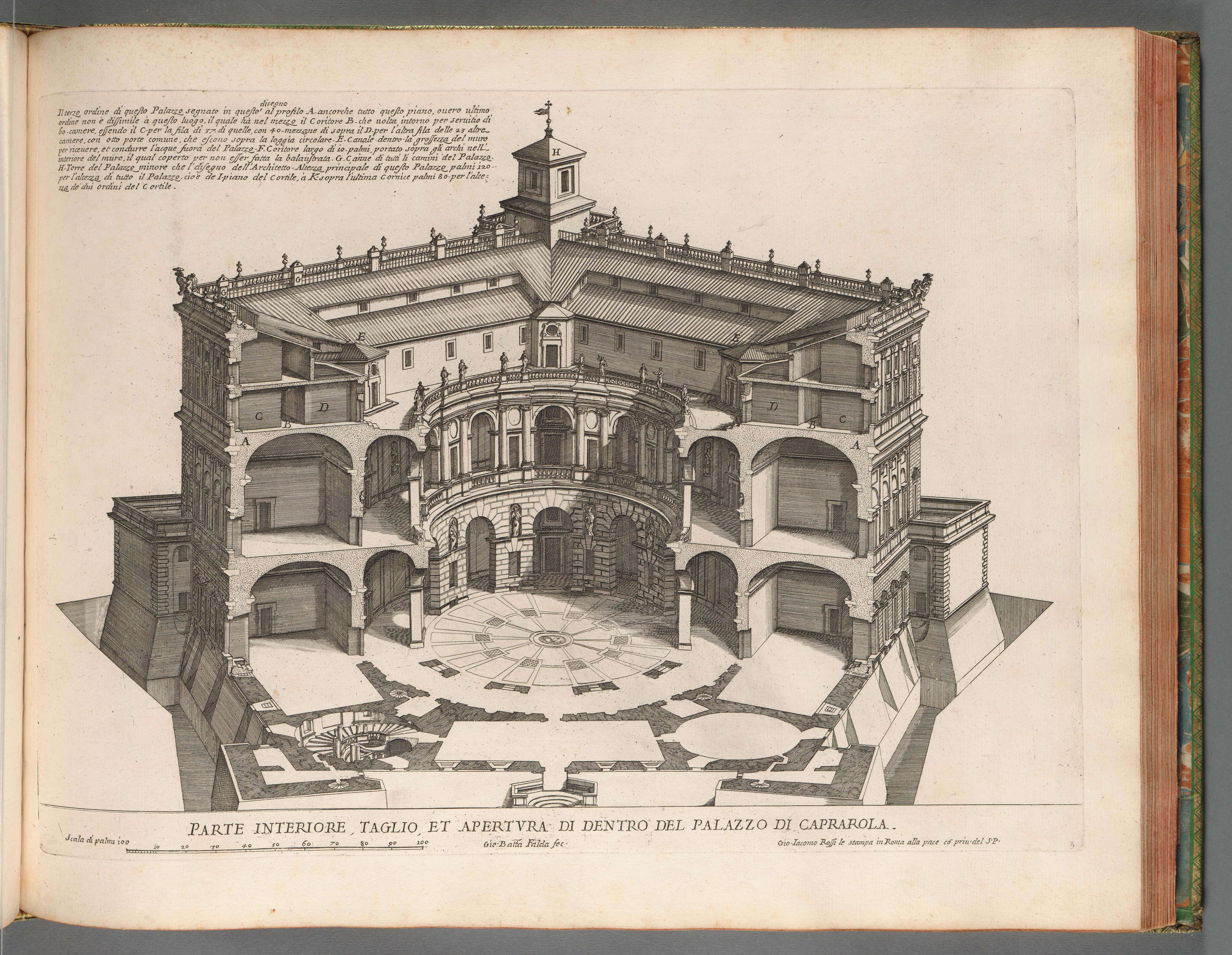 Architetto Di Giardini palazzi di roma de piv. celebri architetti — dumbarton oaks