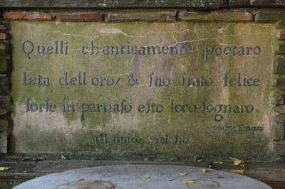 Arbor Terrace, inscription