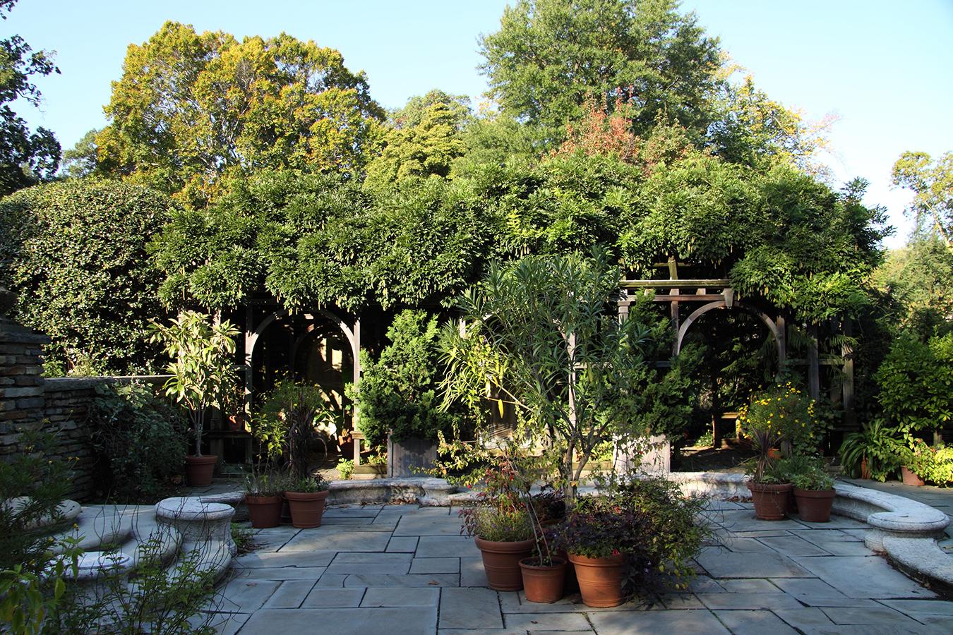 Arbor Terrace, facing west